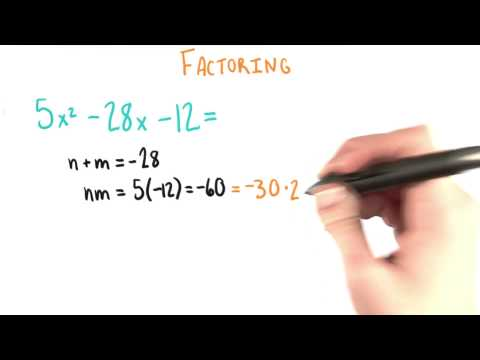 Factoring Yet Again - College Algebra thumbnail