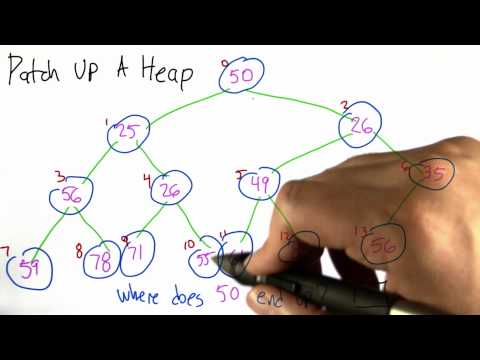 Patch Up A Heap - Intro to Algorithms thumbnail