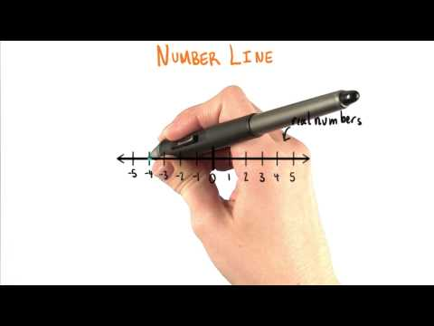 Number Line - College Algebra thumbnail
