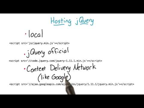 How Is jQuery Included in a Page - Intro to jQuery thumbnail