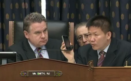 Watch Chen Guangcheng's Phone Call to Congress, Asking to Come to U.S. thumbnail