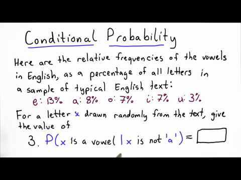 Conditional Probability 3 - Applied Cryptography thumbnail
