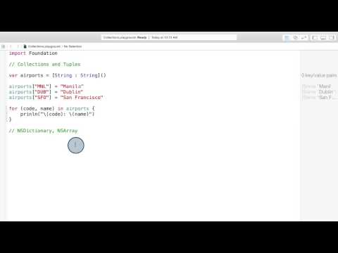 04-16 Swift Session: Collections and Tuples thumbnail