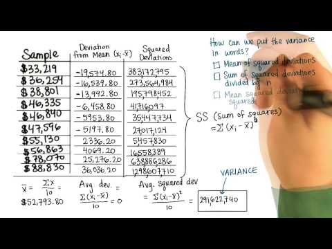 Avg Squared Dev in Words - Intro to Descriptive Statistics thumbnail