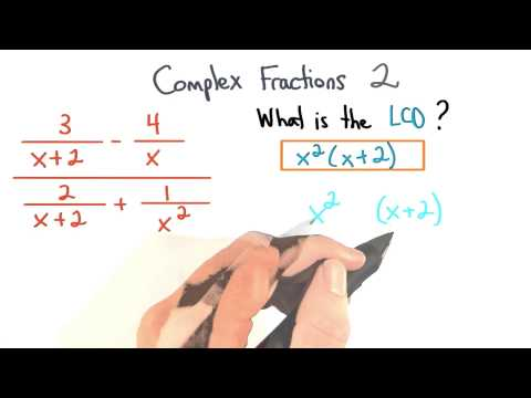 Complex Fractions Find the LCD 2 - Visualizing Algebra thumbnail