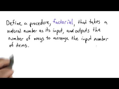 Recursive Factorial - Intro to Computer Science thumbnail