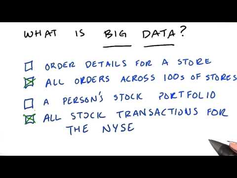 Big Data - Intro to Hadoop and MapReduce thumbnail