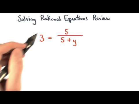 Solving Equations Rationals Review thumbnail