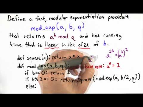 Modular Exponentiation Quiz Solution - Applied Cryptography thumbnail