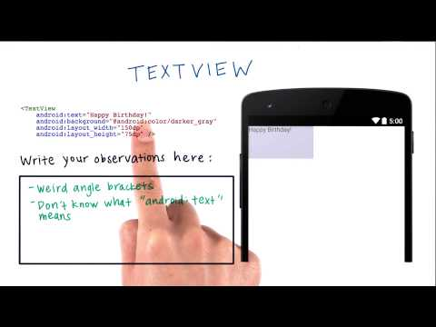 01-11 Using A Text View - Solution thumbnail