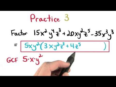GCF Practice 3 - Visualizing Algebra thumbnail