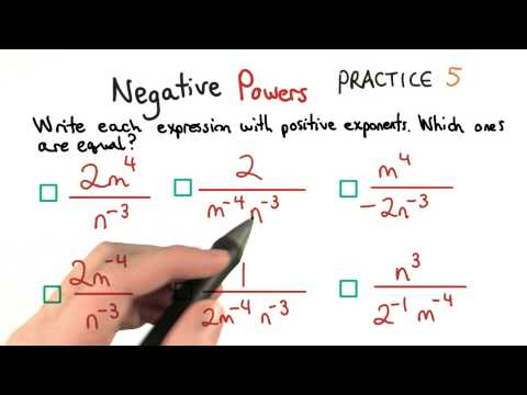 Negative Exponents 5 - Visualizing Algebra thumbnail