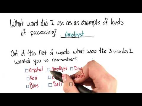 Example words - Intro to Psychology thumbnail