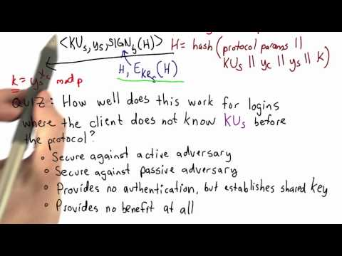 SSH Authentication - Applied Cryptography thumbnail