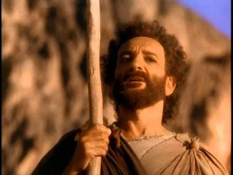 Moses parted the Red Sea - YouTube  Moses The Movie Youtube
