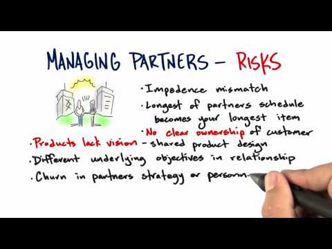 Managing Partners Risks - How to Build a Startup thumbnail