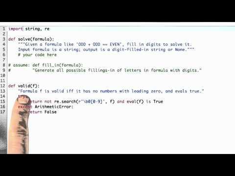 02-49 Solving Cryptarithmetic thumbnail