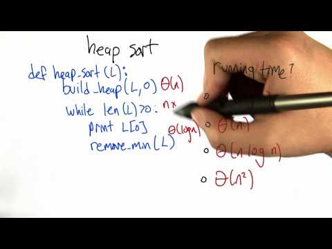 Heap Sort Performance Solution - Intro to Algorithms thumbnail