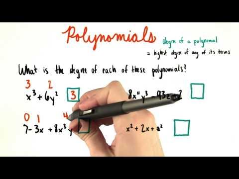 Polynomial Degree ID - College Algebra thumbnail
