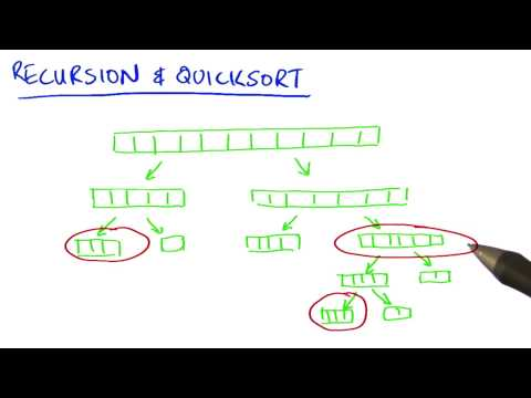 Recursion and Quicksort - Intro to Parallel Programming thumbnail