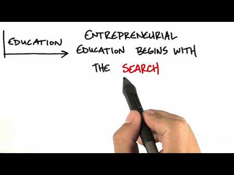 Entrepreneurial Education - How to Build a Startup thumbnail