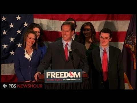 Watch Rick Santorum Speech Announcing Withdrawal From Presidential Campaign thumbnail