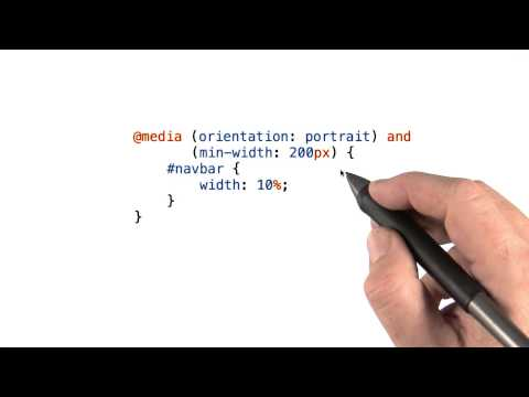 Media queries - Mobile Web Development thumbnail