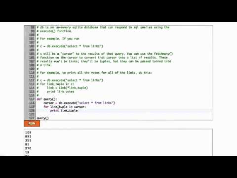 09-14 Databases in Python thumbnail