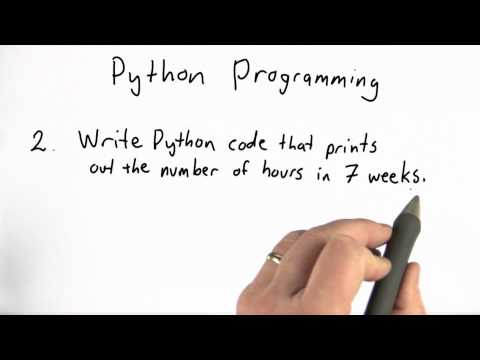 Python Programming 1 - Intro to Computer Science thumbnail