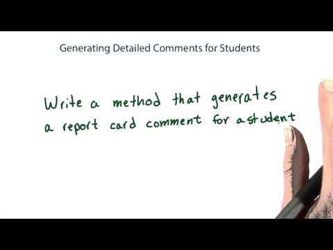 generating detailed comments - Intro to Java Programming thumbnail