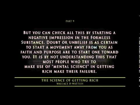 The Science Of Getting Rich Audiobook Unabridged Wallace D