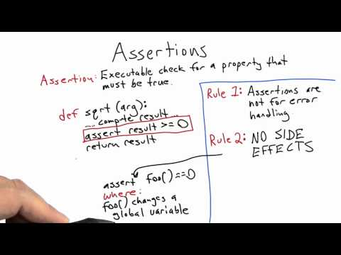 cs258 unit1 11 l Assertions thumbnail
