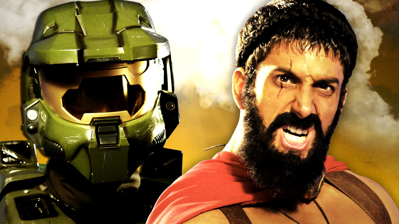 ERB - Master Chief vs Leonidas thumbnail