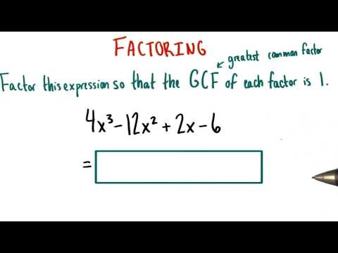 GCFs of 1 - College Algebra thumbnail
