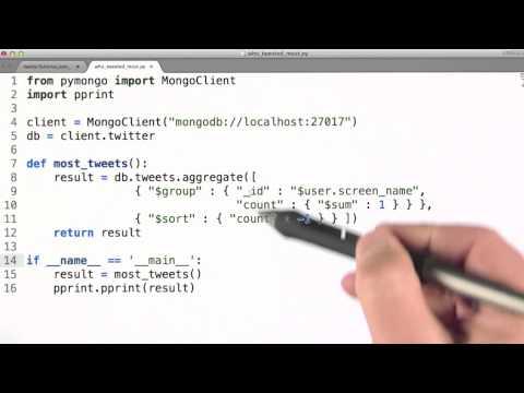 Example of Aggregation Framework - Data Wranging with MongoDB thumbnail