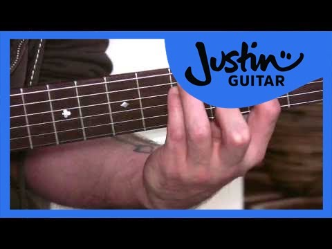 Power Chords 1 (Guitar Lesson BC-172) Guitar for beginners Stage 7  thumbnail