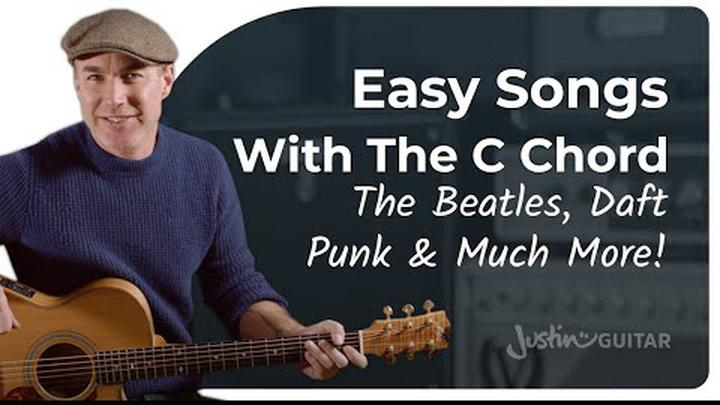 Easy Songs for Beginners! Awesome Hits with Open Guitar Chords