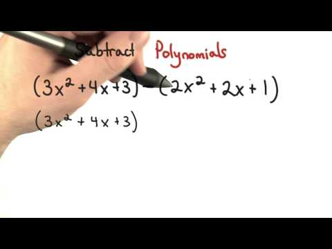 Subtract Polynomials - Visualizing Algebra thumbnail