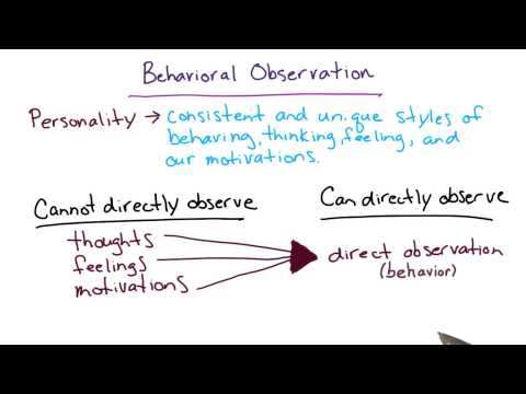 Behavioral observation - Intro to Psychology thumbnail