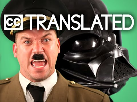 [TRANSLATED] Vader vs Hitler. Epic Rap Battles of History. [CC] thumbnail