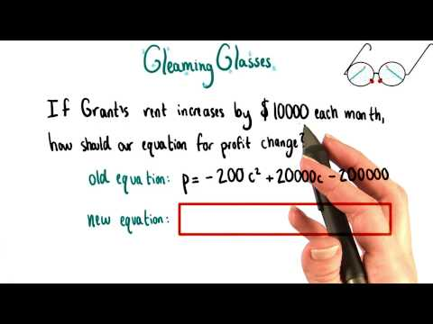 Raising Rent - College Algebra thumbnail