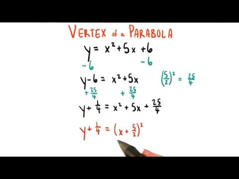 Completing the Square - College Algebra thumbnail