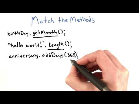 Match the Methods - Intro to Java Programming thumbnail