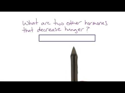 Hormones that decrease hunger - Intro to Psychology thumbnail