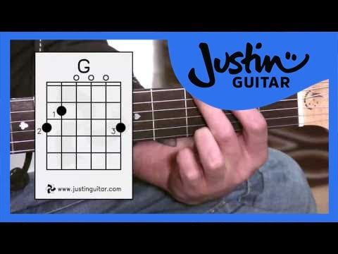 The G Chord (Guitar Lesson BC-131) Guitar for beginners Stage 3  thumbnail