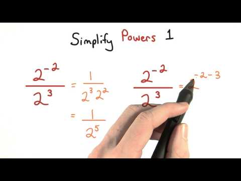 Simplify Exponents Part 1 - Visualizing Algebra thumbnail