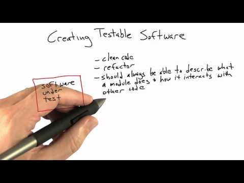 cs258 unit1 10 l Creating Testable Software thumbnail