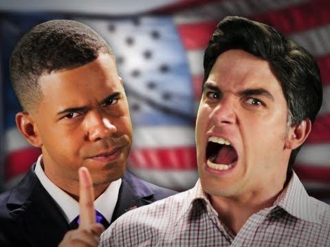 Barack Obama vs Mitt Romney. Epic Rap Battles Of History Season 2. thumbnail
