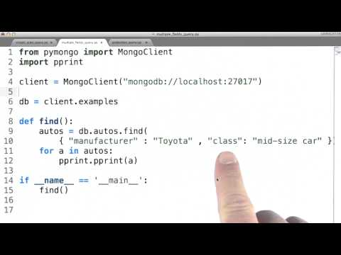 Multiple Field Queries - Data Wranging with MongoDB thumbnail
