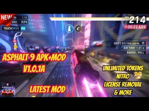 Asphalt 9: Legends Mod Apk + Obb Data Unlimited Money v1